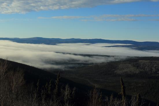 Northern Sky Lodge: アラスカの雲海
