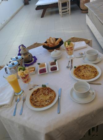 Riad Aguaviva: Yummy breakfast