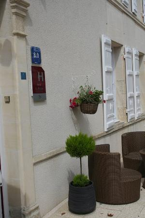 Jarnac Champagne, Frankrig: terrasse