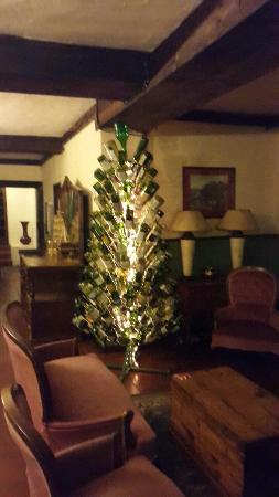 The Historic Pig & Whistle Inn: Our Drinkers Xmas Tree