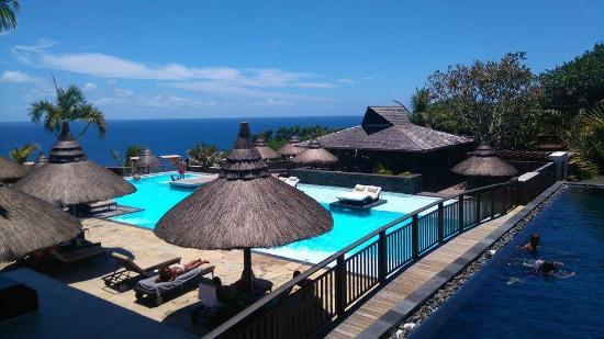 Palm Hotel & Spa: Dégradé de bleu