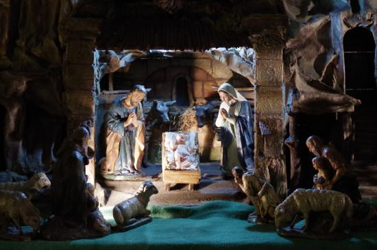 Brno, جمهورية التشيك: Рождественская композиция
