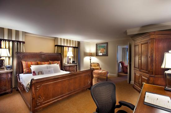 Crowne Plaza Hotel Astor-New Orleans: Hotel Presidential Suite Bedroom