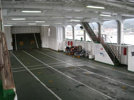 Nagasaki Prefecture, Ιαπωνία: 車両甲板