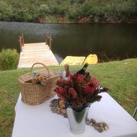 Robertson, Güney Afrika: We got engaged here