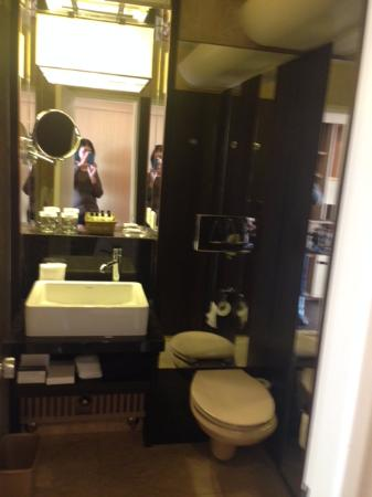 Hotel InterContinental Geneve: Nicely fitted bathroom