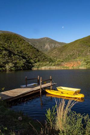 Robertson, Güney Afrika: Where we got engaged!