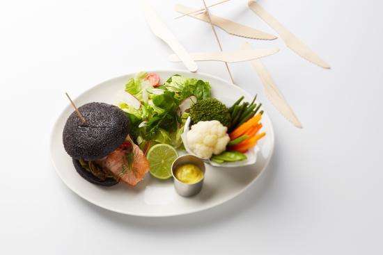 Le Paradis du Fruit: Burggies saumon