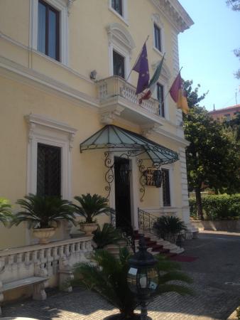 Hotel Villa Pinciana : Hotel Entrance