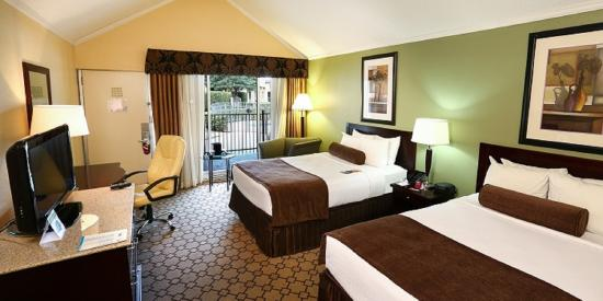 Crowne Plaza Oklahoma City: Double Bed Guest Room