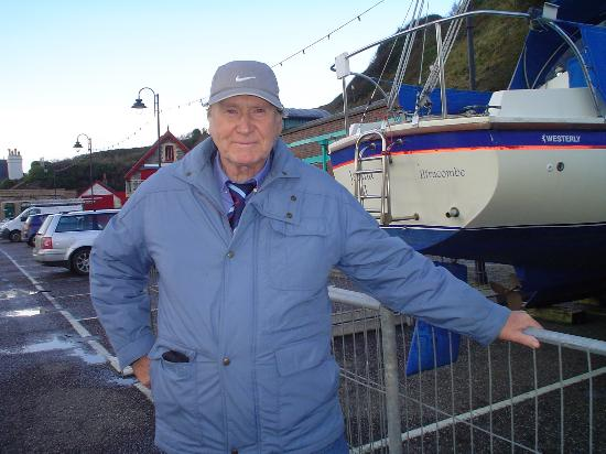 Ilfracombe, UK: Me next to yaughts