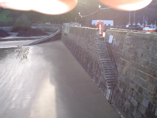 Ilfracombe, UK: Back of the Harbour