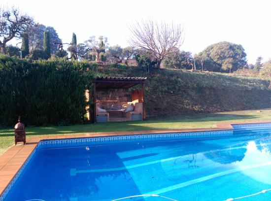 Llica d'Amunt, İspanya: Piscina exterior
