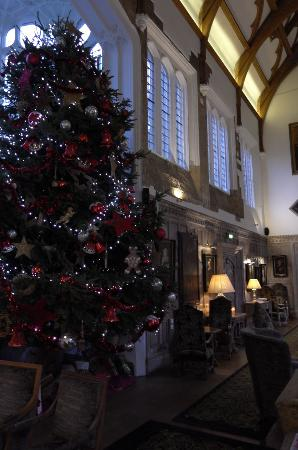 Fawsley, UK: Christmas at the hotel