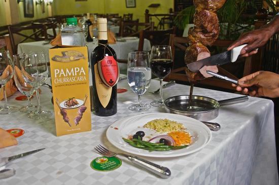 Pampa Churrascaria: rumpsteak