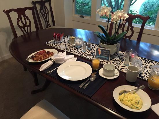 Key Falls Inn : Amazing Breakfast