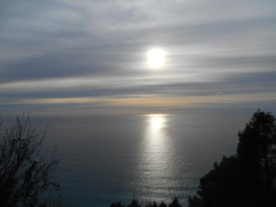 Santuario di Nostra Signora delle Grazie: Vista mozzafiato