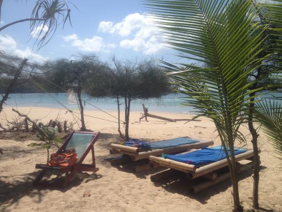 Lanta Island Resort: Nice bambu sunbeds