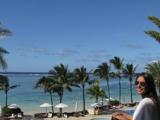 The Residence Mauritius : Varanda do segundo andar