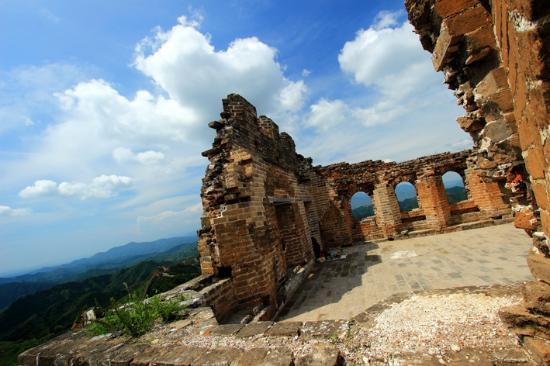 Jinshanling Great Wall : Great Wall of Jinshaling