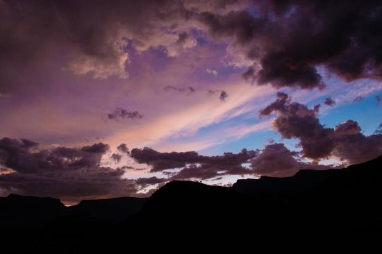 uKhahlamba-Drakensberg Park, جنوب أفريقيا: sunset