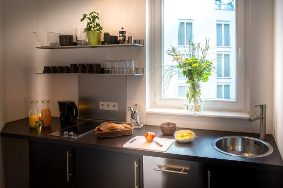 Apartment Küche apartment küche picture of almodovar hotel berlin tripadvisor