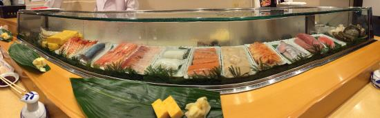 Sushi at Yamazaki, Tsukiji Market