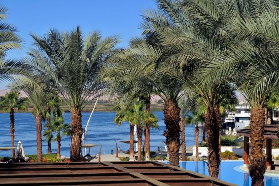 Hilton Luxor Resort & Spa: View from our balcony