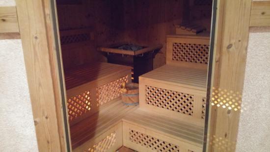 Hotel Furstenhof: Sauna