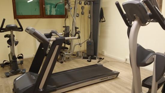 Hotel Furstenhof: Sala Fitness
