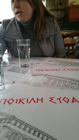 Poikili stoa atene monastiraki ristorante recensioni for Ristoranti ad atene