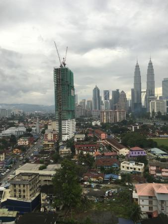 The Regency Hotel Kuala Lumpur : City view from room
