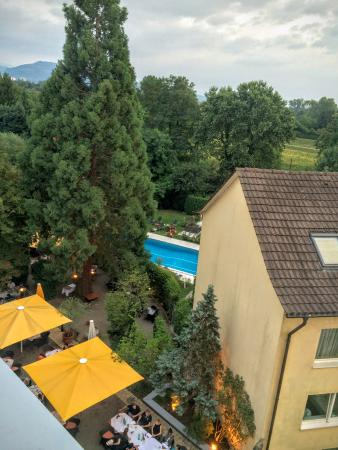 Clarion Hotel Hirschen : A view from Room #506