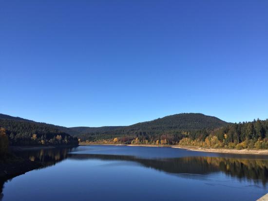Forbach, Tyskland: Гладь озера