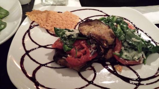 Exeter, NH: Roasted Eggplant with Basil