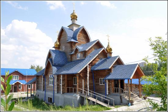 The Temple in Honor of the Vladimir Icon of the Blessed Virgin on the Seven Keys
