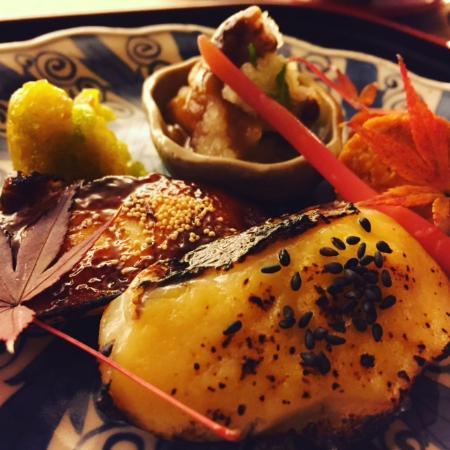 Traditional Kyoto Inn Serving Kyoto Cuisine IZUYASU: Grilled MAI