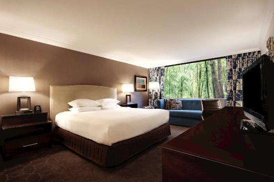 Hilton Durham near Duke University: King Guestroom