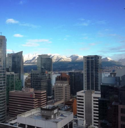 Four Seasons Hotel Vancouver: View from 28th floor