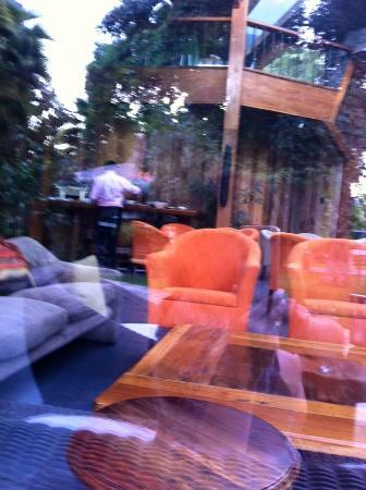 Manquehue Santiago Las Condes: Vista a lobby