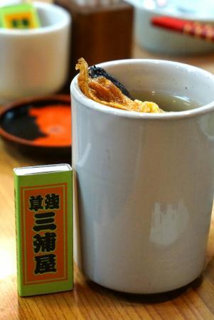 Miuraya Asakusa: 毎年家族で食べに行きます。フグを食べて福を頂きます。