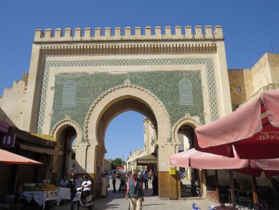 Fes-Boulemane Region, Marokko: Bad Boujloud