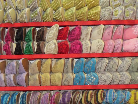 Fes-Boulemane Region, Marokko: Babouches