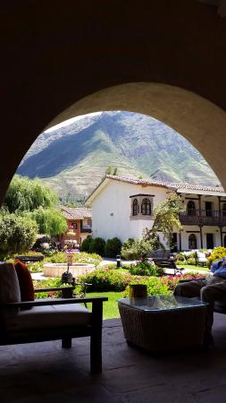 Sonesta Posadas del Inca Sacred Valley Yucay: vista desde el lobby