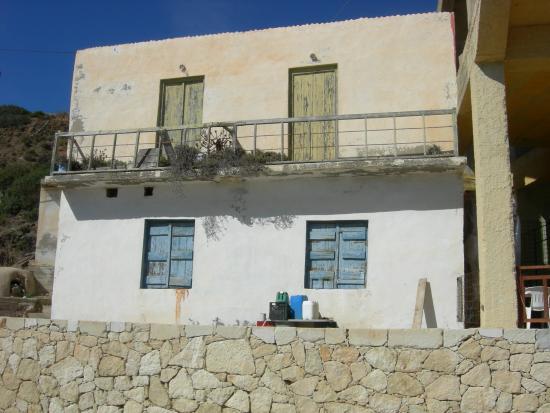 Gavdos, Hellas: Old house near the port