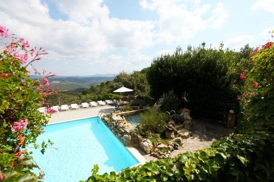 Agriturismo Piaggione di Serravalle: Vista