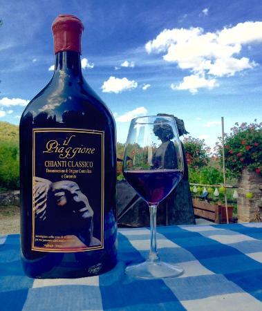 Agriturismo Piaggione di Serravalle: wine