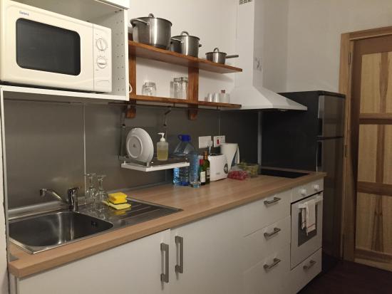 Park Lane Aparthotel: la cocina del apartamento
