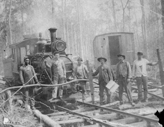 Manteo, Carolina del Nord: Dare Lumber Company train