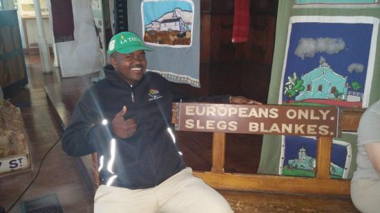 District Six Museum: our tour guide